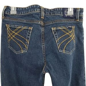 Levi Strauss Low Rise Flare Button Fly Jeans Sz 9